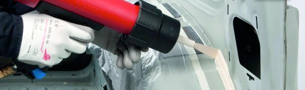 Герметизация швов бревен герметиком